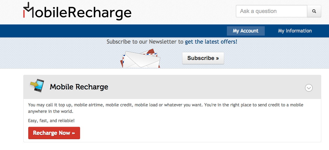 PayPal - MobileRecharge Blog