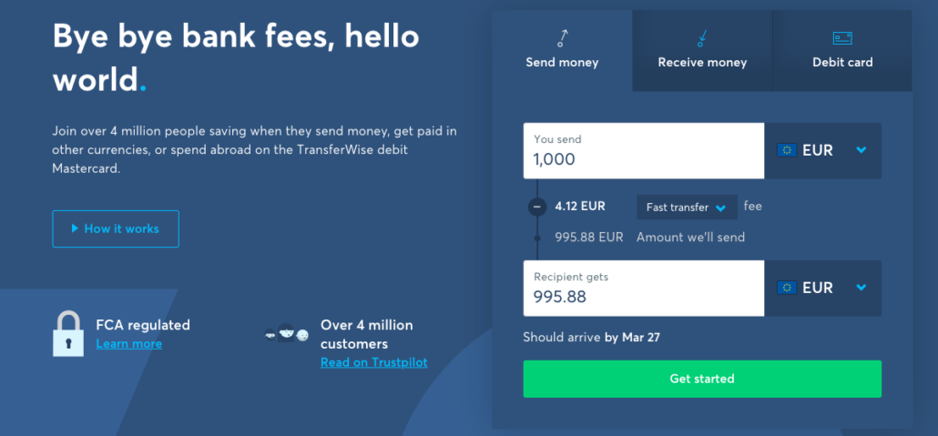 BEST international money transfer & mobile credit top up options