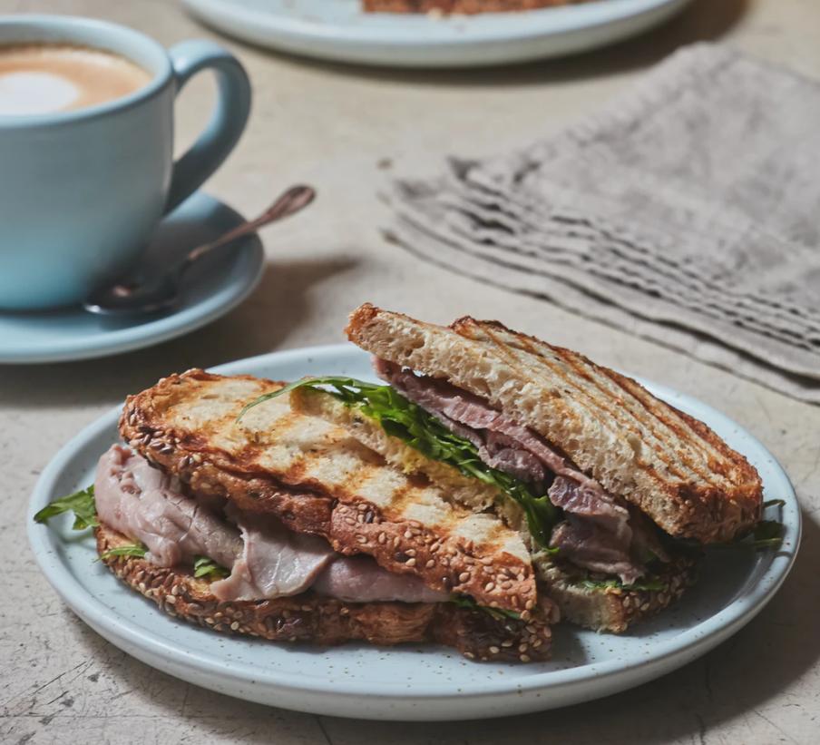 roasted Cuban sandwich
