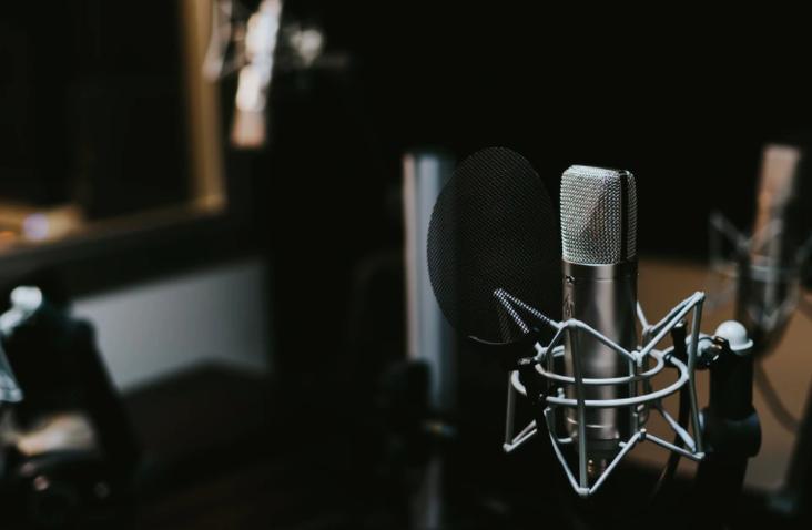 podcast scene