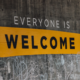 everyone is welcome print