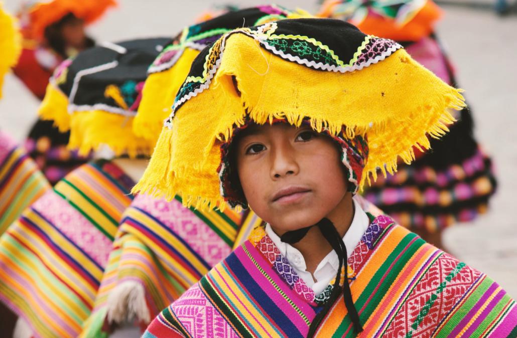 Cusco boy, Peru
