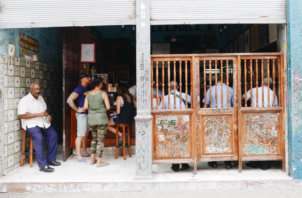 Cuban public place