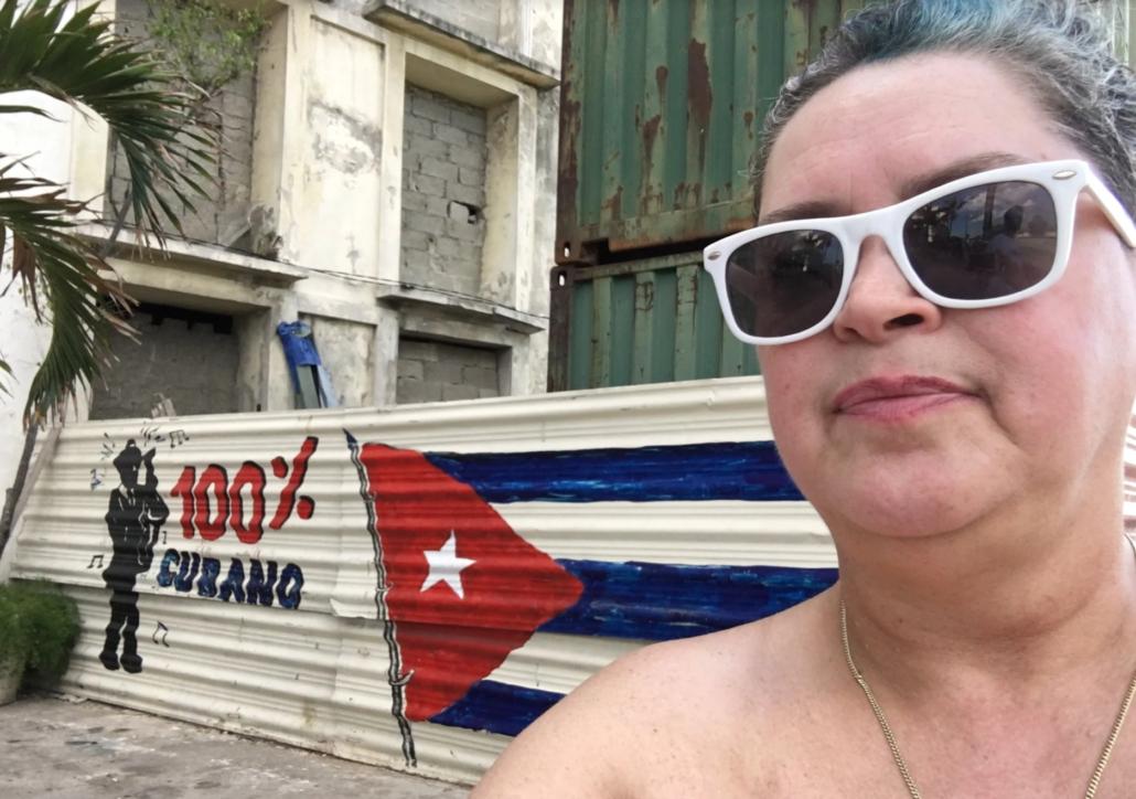 Cuban American Miranda in Cuba