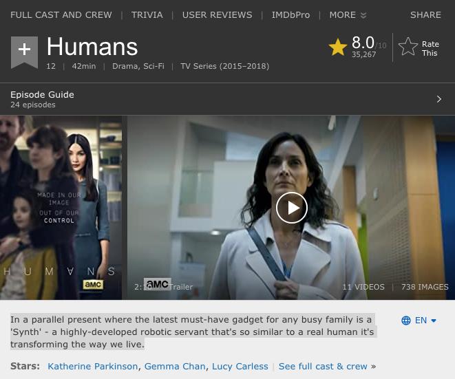 IMDB Humans