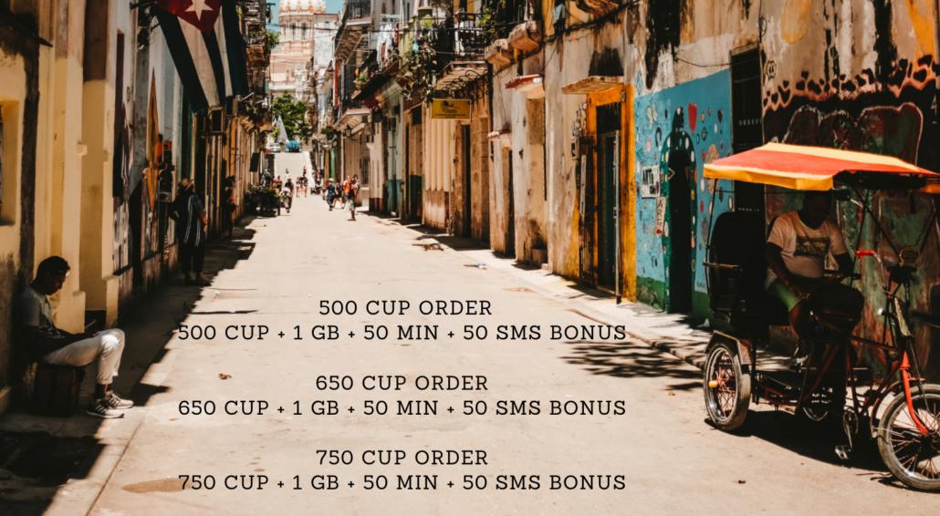 Cubacel promotion for Cubans abroad