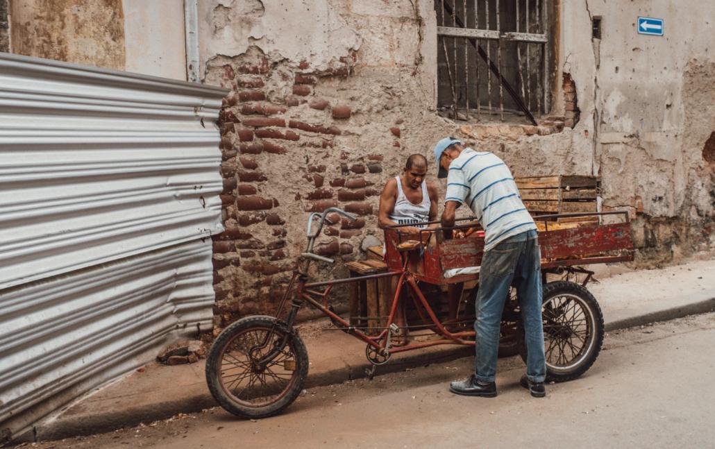news from Cuba - food crisis
